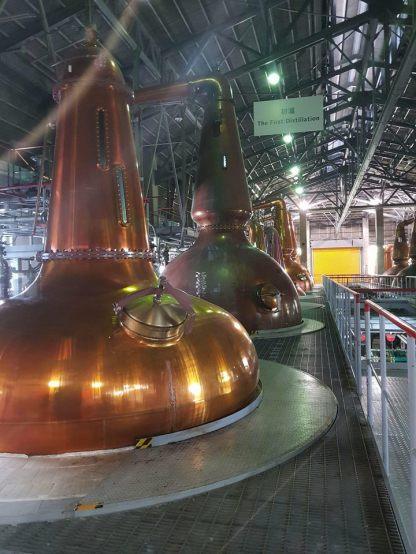 Stills for second distillation