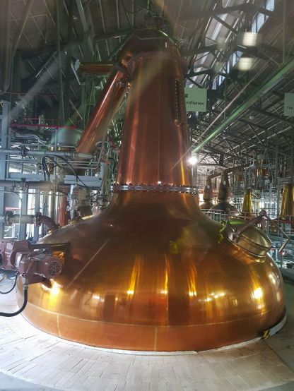 Stills for first distillation