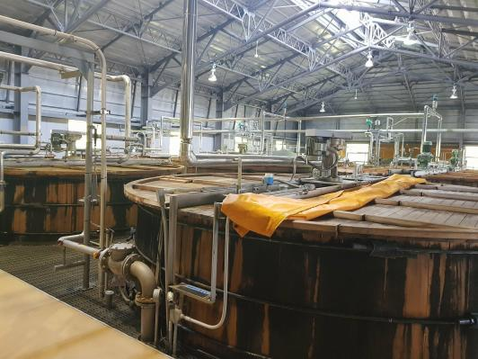 Wooden washbacks